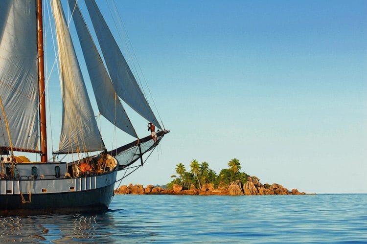 Traum-Urlaubsziel und Top-Tauchrevier: die Seychellen. Silhouette Cruises setzt im Jahr 2017 erstmalig zu zehn Kreuzfahrten als Dive Safaris die Segel. Eine ideale Möglichkeit, den Inselstaat und alle seinen Facetten kennenzulernen. © Silhouette Cruises