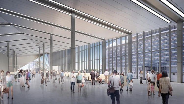 Das neue Terminal A - Cruise Terminal dass ab Herbst 2018 verfügbar sein soll, soll bis zu 1,8 Millionen Gäste im Jahr abfertigen können / © Royal Caribbean International