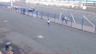 AIDA Passagiere kommen zu spät zum Schiff / © Screenshot Youtube (Kanal Michael Becker )