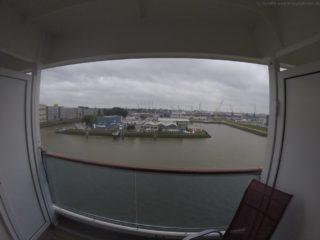 AIDAprima Auslaufen Rotterdam