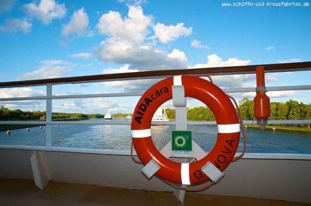 Reisebericht: AIDAcara Nordland-Kreuzfahrt mit Nord-Ostsee-Kanal