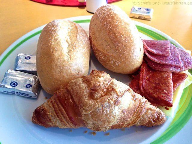 Frühstück im Marktrestaurant