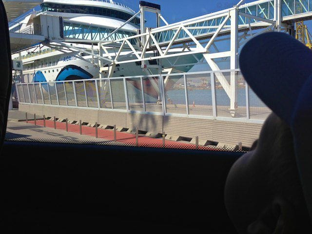Busfahrt zum Aquarium