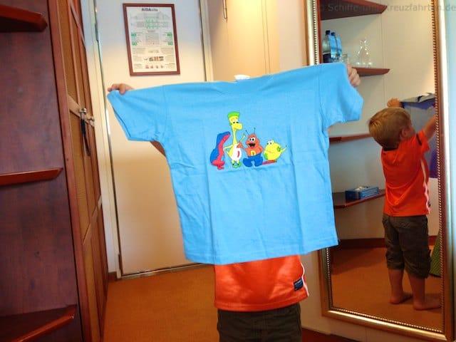 AIDA Clubbies T-Shirt für Kinder