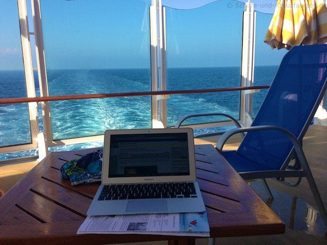 AIDAvita: Büro mit Meerblick