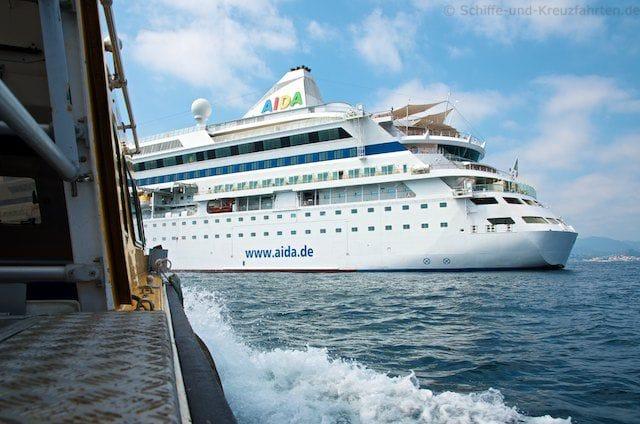 Rückfahrt zur AIDAvita in Cannes