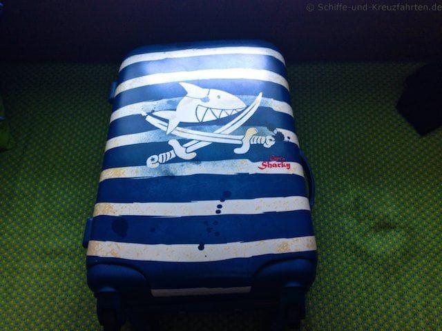 Julian´s Koffer ist gepackt