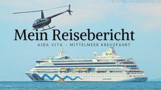 AIDAvita Reisebericht Mittelmeer Kreuzfahrt (mit Kind)