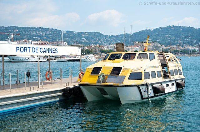 AIDAvita Tenderboot in Cannes