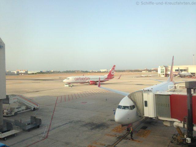 Air Berlin Flugzeuge in Palma de Mallorca