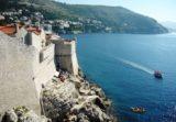 Blick auf Bucht von Dubrovnik