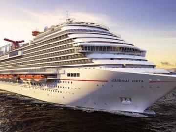 Carnival Vista wird von Miss USA getauft / © Carnival Cruise Line