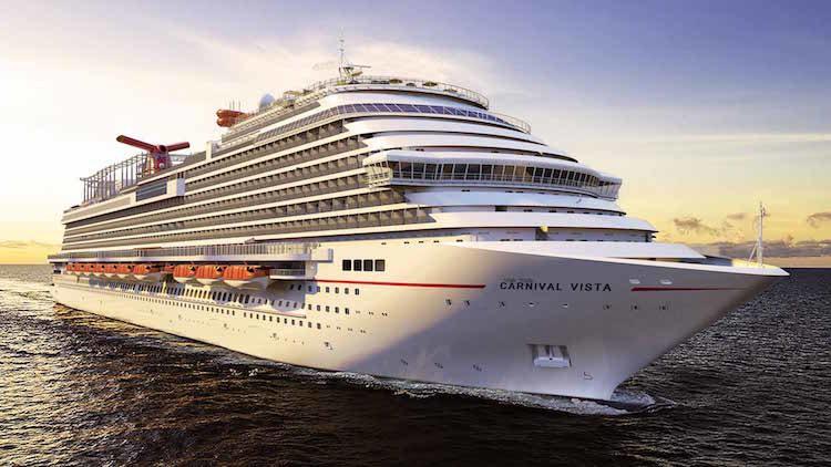 Die Carnival Horizon wird äußerlich identisch zur hier gezeigten Carnival Vista sein / © Carnival Cruise Line