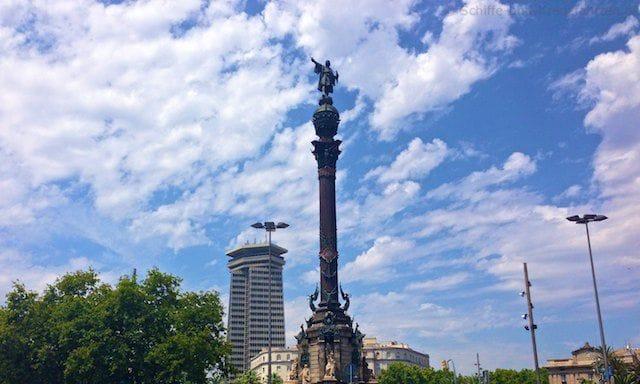 Columbus Denkmal in Barcelona