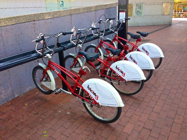 Leihfahrräder in Barcelona