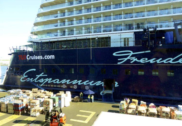 Mein Schiff 5 in Amsterdam
