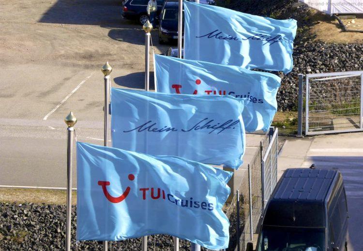 TUI Cruises Mein Schiff in Hamburg