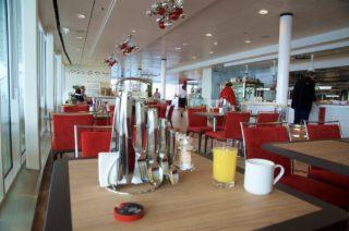 Frühstück im GOSCH Sylt Mein Schiff 5