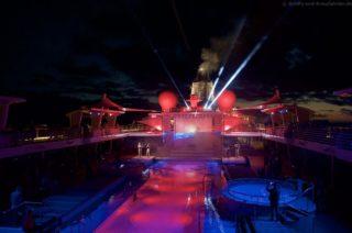 Lichtshow Meeresleuchten Mein Schiff 5