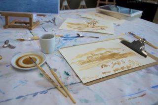 Malkurs - Malen mit Kaffee Mein Schiff 5
