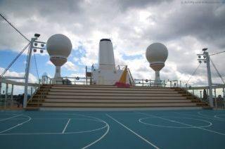 Arena und Sportdeck Mein Schiff 5