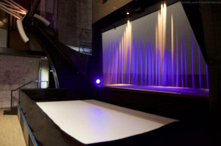 Hologramm-Bühne Studio Mein Schiff 5