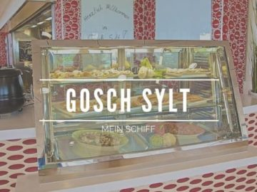 Restaurant GOSCH Sylt Mein Schiff