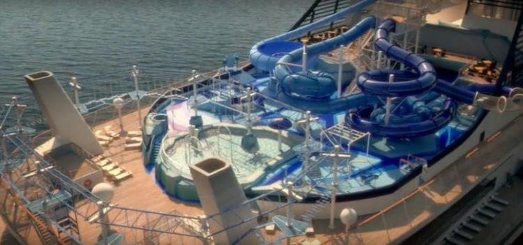 MSC Meraviglia Aqua Park @ MSC Kreuzfahrten
