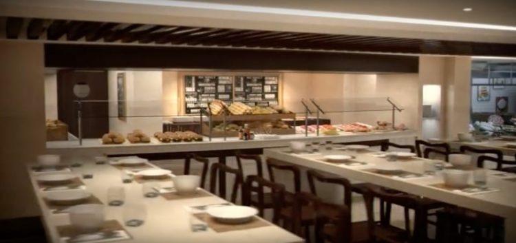 MSC Meraviglia Buffetrestaurant @ MSC Kreuzfahrten
