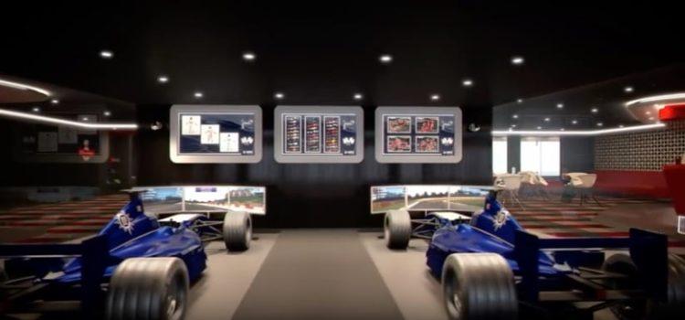 MSC Meraviglia Formel 1 Simulator @ MSC Kreuzfahrten