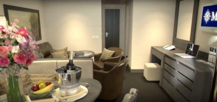 MSC Meraviglia Maisonette Suite @ MSC Kreuzfahrten