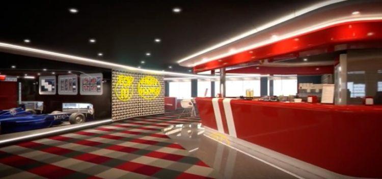 MSC Meraviglia Sports Bar @ MSC Kreuzfahrten