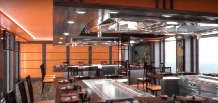 MSC Meraviglia Teppanyaki Restaurant @ MSC Kreuzfahrten