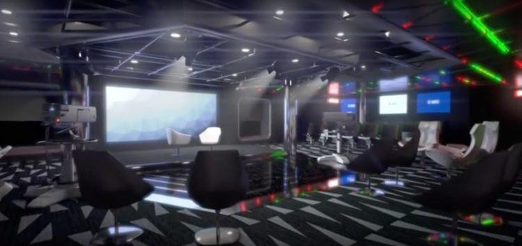 MSC Meraviglia TV Studio @ MSC Kreuzfahrten