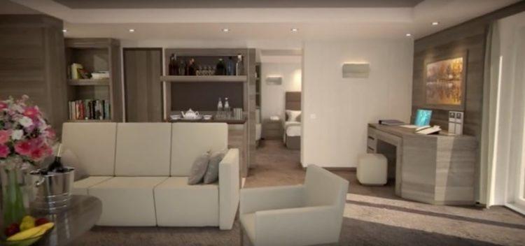 MSC Meraviglia Yacht Club Suite @ MSC Kreuzfahrten