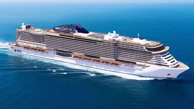 MSC Seaview - der zweite Neubau der MSC Seaside Generation / © MSC Kreuzfahrten