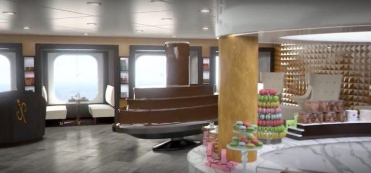 MSC Meraviglia Chocolaterie @ MSC Kreuzfahrten