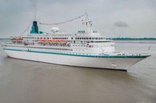 MS Albatros beim Flottentreffen 2016 in Bremerhaven / © Phoenix Reisen