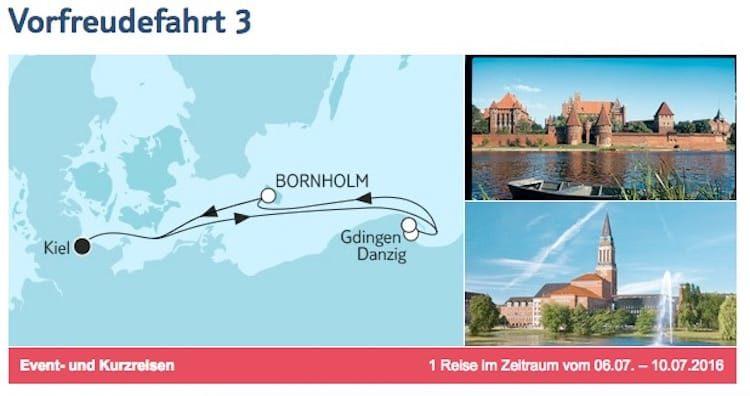 Reisebericht Mein Schiff 5: Ostsee-Kreuzfahrt im Juli 2016 (Vorfreude-Kreuzfahrt)