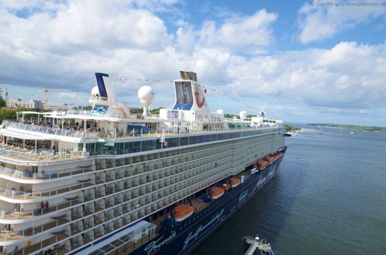 Doppelanlauf: Mein Schiff 4 und Mein Schiff 5 in Kiel