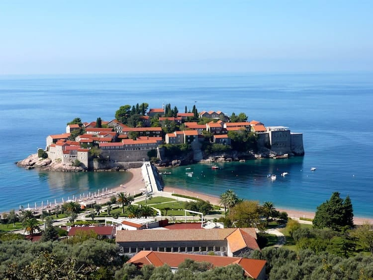 Stevi Stefan Hotelinsel in Kotor