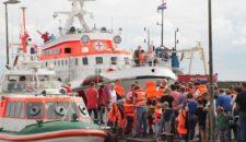 Tag der Seenotretter 2016: 28.000 Menschen zu Gast