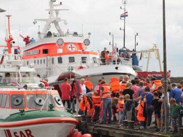 28.000 Gäste kamen zum Tag der Seenotretter in die Häfen / © DGzRS