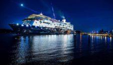 Mein Schiff 5 Erstanlauf in Bremerhaven