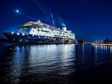 Erstanlauf der Mein Schiff 5 in Bremerhaven / © TUI Cruises