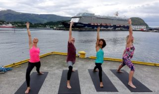 Yogawoche mit der Mein Schiff 4 von TUI Cruises / © Silvia Tichler