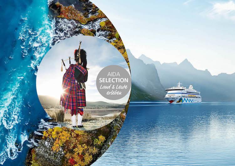 AIDA Selection: Besondere Kreuzfahrten mit AIDAaura, AIDAcara und AIDAvita