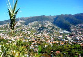 Aussicht auf Funchal