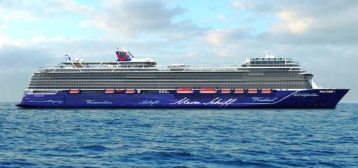 Die neue Mein Schiff 2 - ab 2019 - bisher unter Mein Schiff 8 bekannt / © TUI Cruises