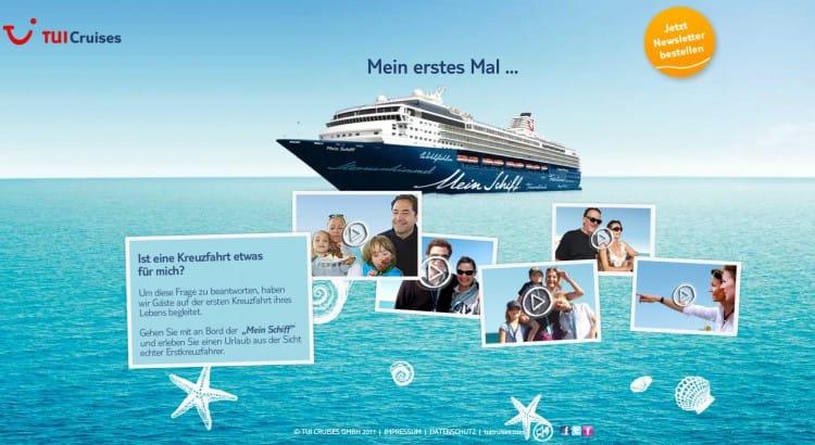 Meine erste Kreuzfahrt - Mein Schiff © TUI Cruises